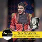 Award - Lead Performance (College Division) - Trey DeGroodt - Pippin-1