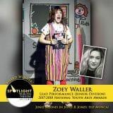 Award - Lead Performance (Junior Division) - Zoey Waller - Junie B Jones-1