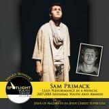 Award - Lead Performance in a Musical - Sam Primack - Jesus Christ Superstar 01