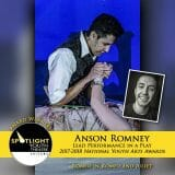 Award - Lead Performance in a Play - Anson Romney - Romeo and Juliet