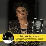 Award - Supporting Performance in a Musical - Isaiah Salazar - Jesus Christ Superstar