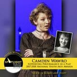Award - Supporting Performance in a Play - Camden Wawro - Romeo and Juliet