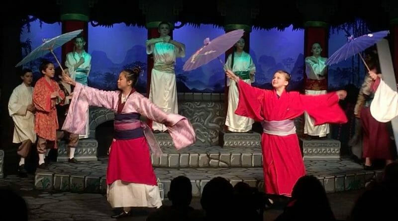 Disney's Mulan Jr. performed at Spotlight Youth Theatre