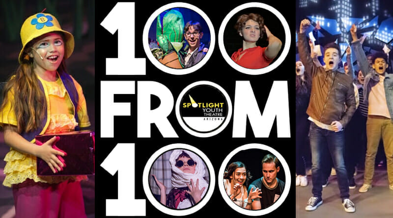 Spotlight Youth Theatre 100 for 100 Campaign