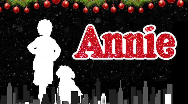 Spotlight Youth Theatre presents Annie, December 2019.