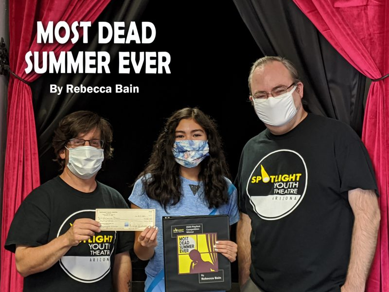Spotlight Youth Theatre Playfest Competition Winner, Rebecca Bain