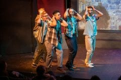 Dogfight musical at Spotlight Youth Theatre