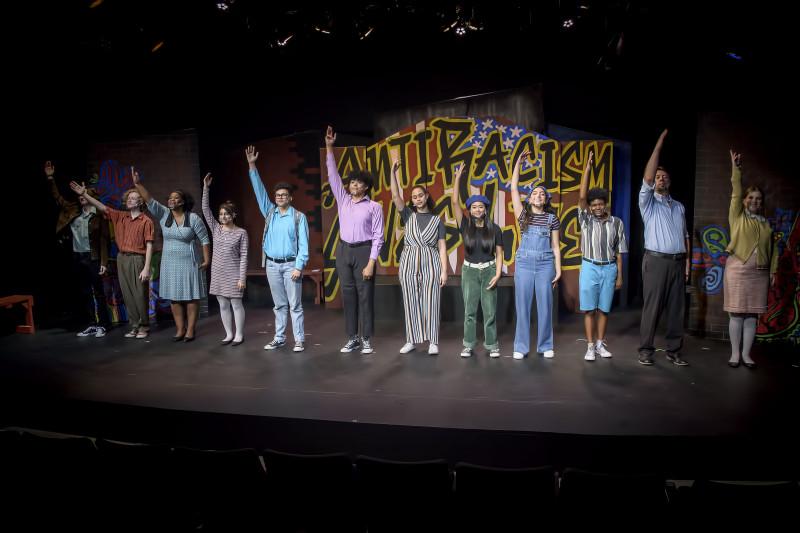 Emmett's Art Project at Spotlight Youth Theatre