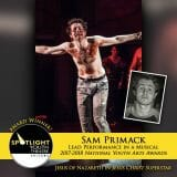Award - Lead Performance in a Musical - Sam Primack - Jesus Christ Superstar 02