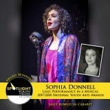 Award - Lead Performance in a Musical - Sophia Donnell - Cabaret-265