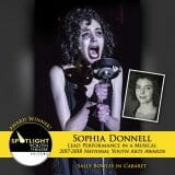 Award - Lead Performance in a Musical - Sophia Donnell - Cabaret-351