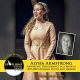 Award - Supporting Performance in a Musical - Alyssa Armstrong - Pippin-42