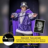 Award - Supporting Performance in a Musical - Isaiah Salazar - Pippin-5