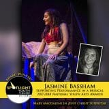 Award - Supporting Performance in a Musical - Jasmine Bassham - Jesus Christ Superstar