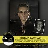 Nomination - Supporting Performance (College Division) - Jeremy Bassham - Jesus Christ Superstar