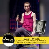 Nomination - Supporting Performance in a Musical - Jack Taylor - Pippin Act 1-77