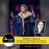 Nomination - Supporting Performance in a Musical - Savoy Graca - Pippin-32