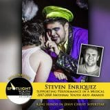 Nomination - Supporting Performance in a Musical - Steven Enriquez - Jesus Christ Superstar