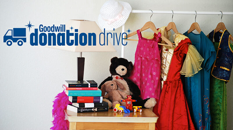 Goodwill donation drive for Spotlight Youth Theatre