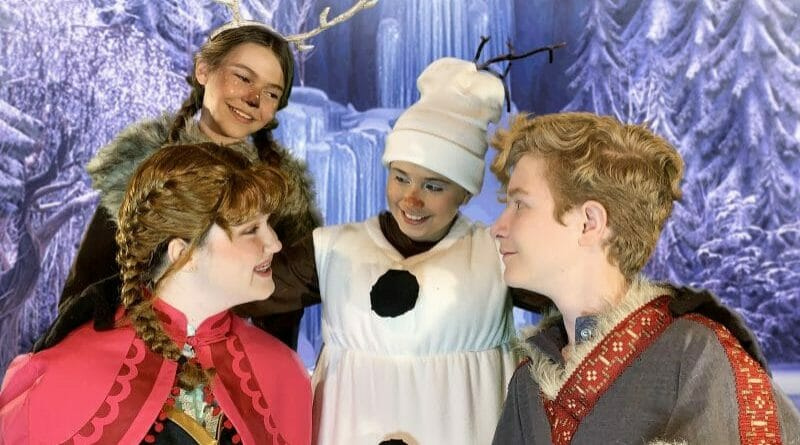 Disney's Frozen JR., produced by Spotlight Youth Theatre