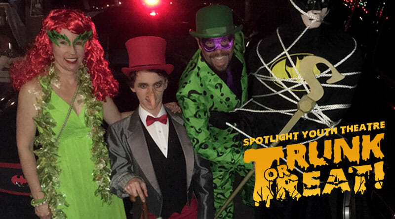 Spotlight Youth Theatre hosts Trunk-or-Treat