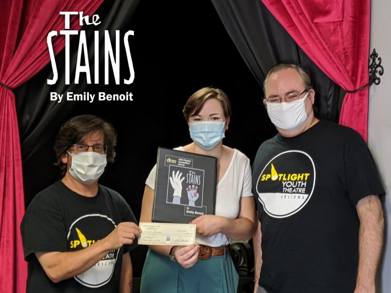 Spotlight Youth Theatre Playfest 2020-2021, competition winner Emily Benoit