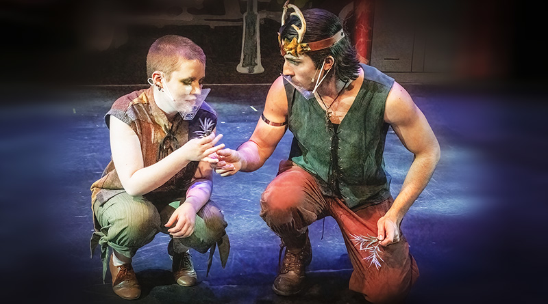 A Midsummer Night's Dream produced by Spotlight Youth Theatre