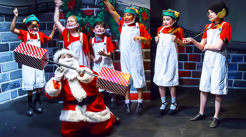 Wanted: Santa Claus produced by Spotlight Youth Theatre