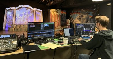 Lighting and Sound Design at Spotlight Youth Theatre