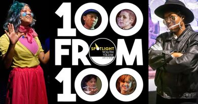 Spotlight Youth Theatre's 100 from 100 campaign