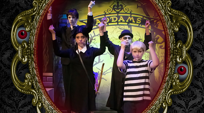The Addams Family young@part produced by Spotlight Youth Theatre